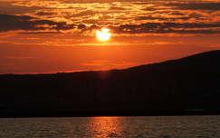 Velencei-tó naplemente
