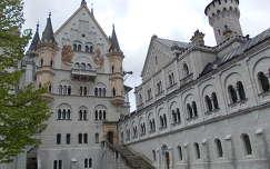 Neuschwanstein kastély belső udvara
