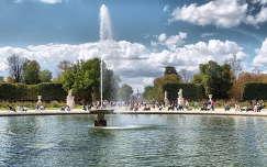 Párizs,Franciaország,Tuileriák kertje