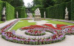 Linderhofi kastély parkja,Németország