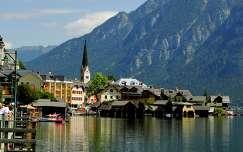 Hallstatt -nyár az Alpokban