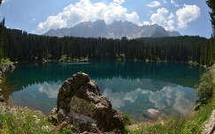 Olaszország, Karer tó (Dolomitok)