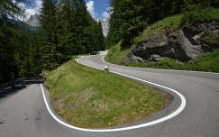 Olaszország, Dolomitok, Dolomit-út