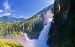 Ausztria, Krimml vízesés