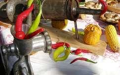 termény tök kukorica paprika zöldség
