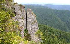 Erdély, az Istenszéke sziklái