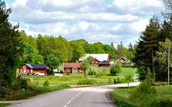 Parasztházak Svédországban