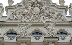 Linderhofi kastély homlokzata,Németország