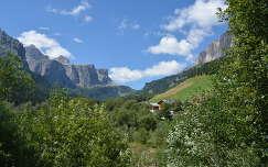 La Sella, az Olasz Alpokban.