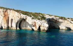 Zakynthos / kék barlangok
