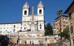Spanyol lépcső,Róma,Olaszország