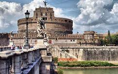 az Angyalvár,Róma,Olaszország