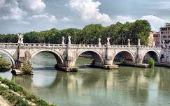 az Angyalhíd Rómában,Olaszország