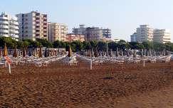Szezonvég,Lignano,tengerpart.