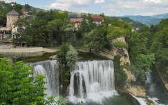 Bosznia, Jajce vízesés
