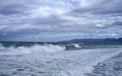 tenger felhő hullám