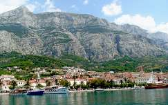 Makarska 2013 kikötő