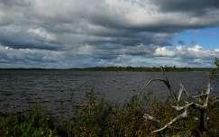 Lappföld, Finnország, tó