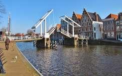 HAARLEM- HOLLAND,  Brug over Spaarne rivier