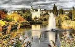 az őszi Feneketlen-tó,Budapest