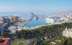 MALAGA kikötő