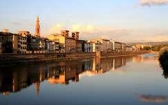 Olaszország, Firenze - Arno folyó