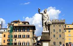 Olaszország, Firenze - Szentháromság-híd