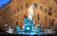 Olaszország, Firenze - Neptun-kút