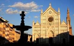 Olaszország, Firenze - Santa Croce templom