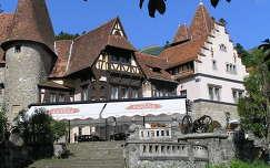 Sinaia Peles kastély melléképülete