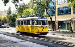nosztalgia villamos Budapesten