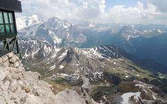 Dolomitok,Pordói hágó,Olaszország