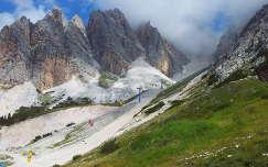 Felvonó a Monte Cristallo-ra, Dolomitok