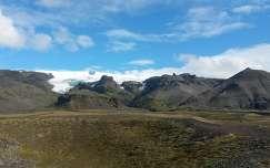 Gleccser - Izland