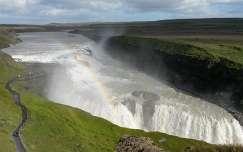Gullfoss vízesés - Izland