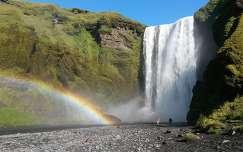 Skógafoss vízesés - Izland