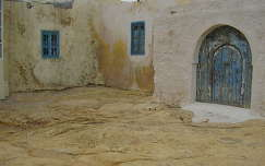 Vidéki település házai, Tunézia