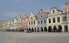 Telc főtere, Csehország, világörökség