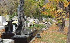 Budapest,Farkasréti temető őszi pompában