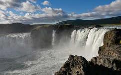 Godafoss vízesés - Izlan