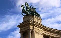 budapest szobor hősök tere magyarország