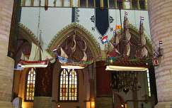 HAARLEM-HOLLAND, The ships in the St.Bavo Church