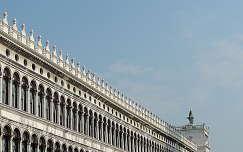 En la Plaza San Marcos, Venecia.