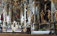 Oberammergaui templombelső,Németország