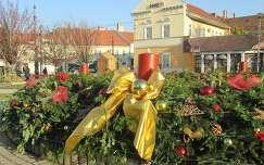 Miskolc, a város adventi koszorúja a Szent István téren. Fotó: Kupcsik Sarolta