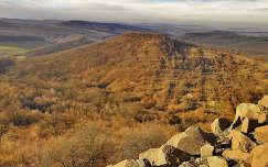 Hollókő,kilátás a várból 2010 őszén,Fotó:Szolnoki Tibor