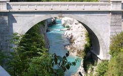Napóleon-híd, Szlovénia