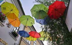 Szentendre-esernyők
