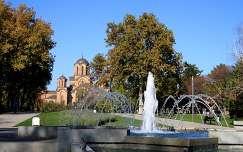 Szerbia - Belgrád, Ta¹majdan-park