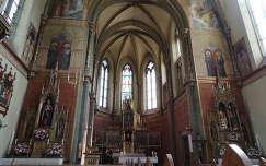 Stans Tiroli városka temploma,Ausztria